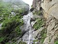 Water fall at Paro Taktsang 03.jpg