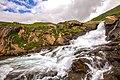 Waterfall of Ratti Gali Lake.jpg