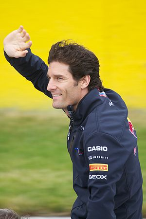 2013 FIA Formula One World Championship - Mark Webber finished third in the championship in his final year in Formula One.