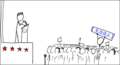 Webcomic xkcd - Wikipedian protester zh.png