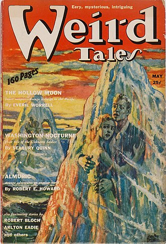 Almuric - Almuric was serialized in Weird Tales, beginning in the May 1939 issue.