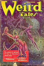 Weird Tales cover image for November 1951