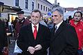Werner Faymann in Eisenstadt, 11.11.2008 (3025034190).jpg