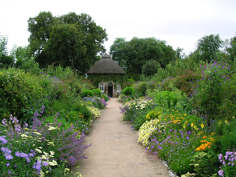 File:West Dean House gardens.JPG