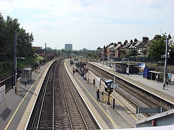 English: West Hampstead Thameslink West Hampst...