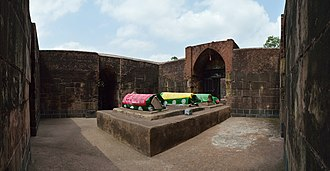Bansberia - The western chamber of Zafar Khan Ghazi Dargah at Tribeni.