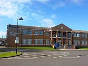 Weymouth College of further education in Melcombe Regis