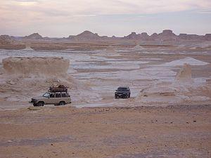 Farafra, Egypt - Image: White Desert Egypt@Farafra Oasis 2007jan 6 06 by Daniel Csorfoly
