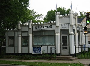 White Castle (restaurant) - Image: White Castle Building 8