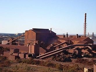 Whyalla Steelworks - The Whyalla Steelworks circa 2009