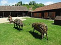 Wicker Sheep in the Somerset Rural life Museum. - geograph.org.uk - 1322685.jpg