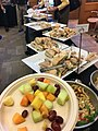 WikiConference North America 2018 18 October lunch.jpg
