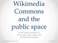 Wikimedia Commons and the public space.pdf