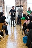 Wikimedia Hackathon Vienna 2017-05-19 Mentoring Program Introduction 039.jpg