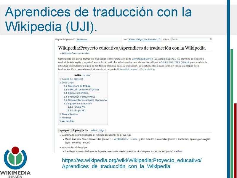 Archivo Wikipedia Como Recurso Para El Aprendizaje En El