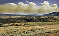 Wildfire in Yellowstone National Park produces Pyrocumulus clouds edit 2.jpg