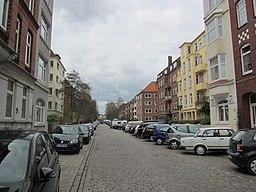 Wilhelmshavener Straße in Kiel