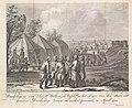 Willem V met zijn zonen in het legerkamp, 1794 Raadpleeging van Z.D.H. Willem de Vijfde, in het Leger van den Staat, met derzelver Doorluchtige zoonen en verdere Generaals, in April 1794 (titel op object), BI-B-FM-102C-1.jpg