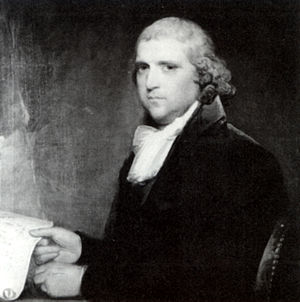 William Cooper (judge) - William Cooper painted by Gilbert Stuart