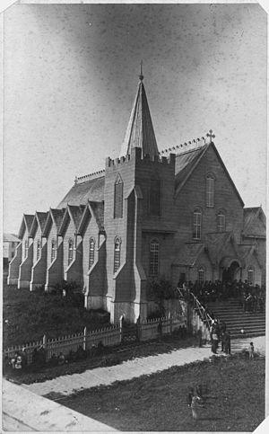 William Duncan (missionary) - Duncan's church at Metlakatla, B.C.