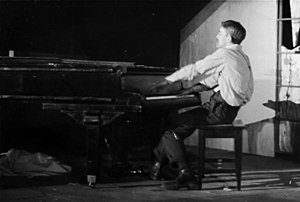 William Engvick - Bill Engvick playing piano in 1937.