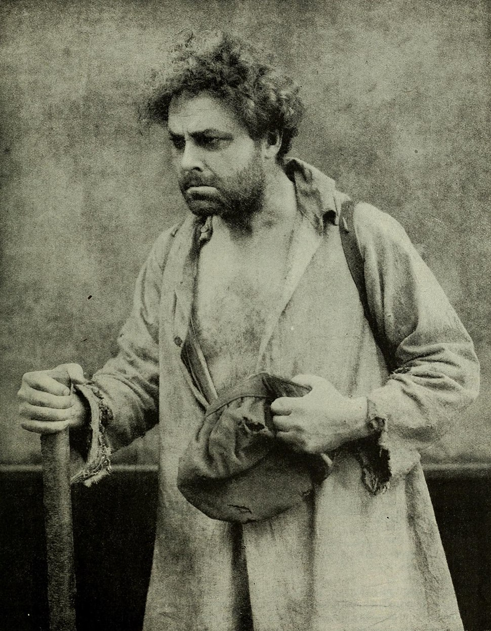William Farnum as Jean Valjean