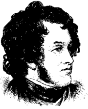 Sketch of William Harrison Ainsworth