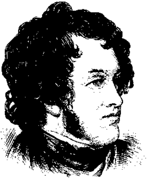 William Harrison Ainsworth - Sketch of William Harrison Ainsworth