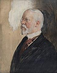 Portraitstudie Freiherr von Cramm-Burgdorf, Gesandter