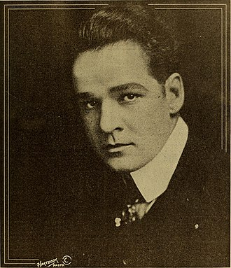 William Russell (American actor) - William Russell in Motion Picture Studio Directory and Trade Annual, 1916