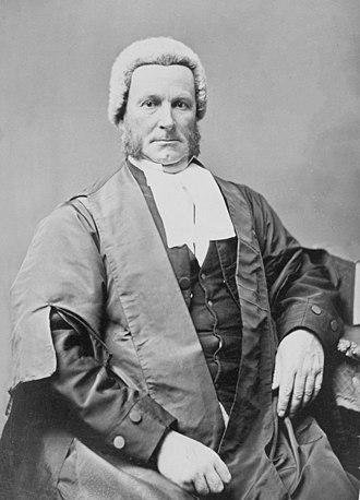 William Stawell - Stawell in 1872