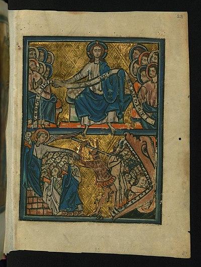 Jesus dömer syndarna