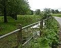 Wimborne Gt Giles, railings - geograph.org.uk - 1439666.jpg