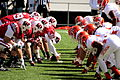 Wisconsin Badgers UTEP line of scrimmage.jpg