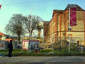 Withington Community Hospital - Former premises under re-development