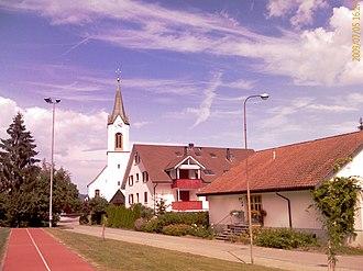 Wittnau, Aargau - Image: Wittnau Preghejo 727