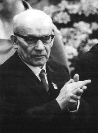 Władysław Gomułka - Image: Wladyslaw Gomulka 1967