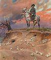 Wojciech Kossak Napoleon auf dem Schlachtfeld.jpg