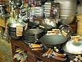 Woks for sale by stu spivack in San Francisco.jpg
