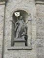 Wolfegg Pfarrkirche Chor außen Walburga.jpg