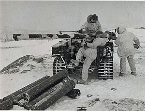 120 mm BAT recoilless rifle - Image: Wombat L6 on Snow Trac
