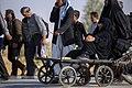 Women on the Arba'een Walk-Mehran city-Iran زنان در پیاده روی اربعین در مرز مهران- عکاسی خبری 01.jpg