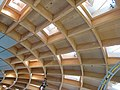 Wooden roof of The Core - Eden Project - geograph.org.uk - 784520.jpg