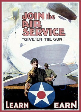 World War I US Army Air Service Recruiting Poster Source3