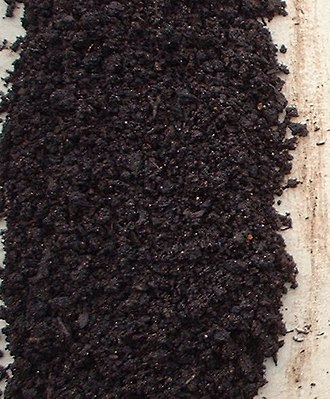 Vermicompost - Rotary screen harvested vermicompost, composed of worm castings