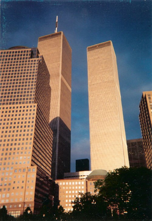 The former Twin Towers of the World Trade Center were the city's tallest from their opening in 1972 to their destruction in 2001.