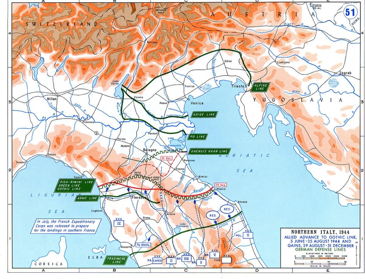 Battle Of Ancona Wikipedia - Map of ancona italy