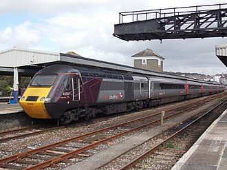 CrossCountry - Image: XC HST at Plymouth 11th September 2017