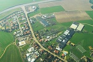 Yad Natan - Image: Yad Natan Aerial View