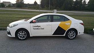 Yandex.Taxi - Yandex.Taxi in Estonia